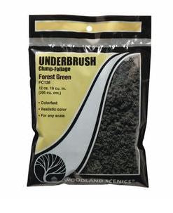 Woodland Scenics: FC138 UNDERBRUSH - FOREST GEEN 24