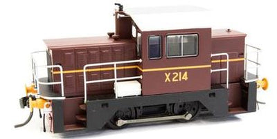 X214 Note; $75.00 off this model IDR Models: X214 NSWGR LOCO RAIL TRACTOR - INDIAN RED RRP $255.00