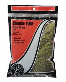 Woodland Scenics: T62 COARSE TURF - BURNT GRASS