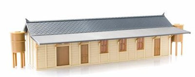 Rail Central: 30% DISCOUNT RC1001 NSWGR PC3 PARTLY ASSEMBLED KIT PREFAB CONCRETE PC3 STATION BUILDING RRP is $85.00