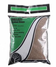 Woodland Scenics: B79 MEDIUM BALLAST - BROWN