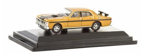 Road Ragers : 1971 Falcon GTHO Phase III: Yellow Ochre, HO Car. diecast.