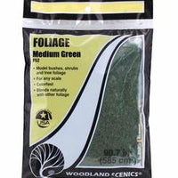 Woodland Scenics: F52 FOLIAGE MEDIUM GREEN