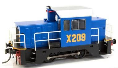 IDR Models: X209 NSWGR LOCO RAIL TRACTOR Sale on BLUE X209 price now $179 RRP $255.00
