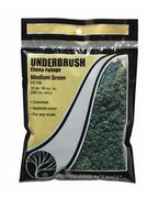 Woodland Scenics: FC136 UNDERBRUSH - MEDIUM GREEN 24