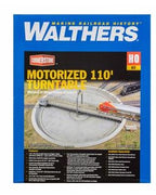 Walthers: TURNTABLE 110' MOTORIZED DC/DCC 933-2851