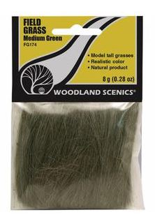 Woodland Scenics: FG174 GRASS - MEDIUM GREEN
