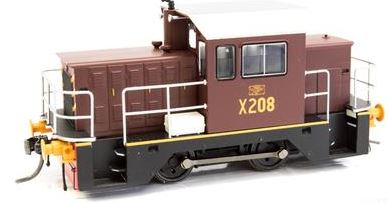 IDR Models: X208 NSWGR LOCO RAIL TRACTOR - INDIAN RED Sale price $179.00 ea. (RRP $255.00)