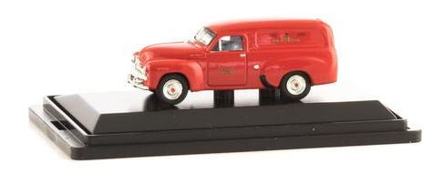 Road Ragers: 1953 FJ PMG Van: Red HO Car. diecast.