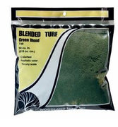 T49 Woodland Scenics: T49 BLENDED TURF - GREEN (LGE)