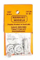 Kerroby Models: H51 DAVID BROWN TRACTOR KIT unpainted