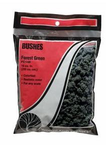 Woodland Scenics: FC148 BUSHES - FOREST GREEN 24