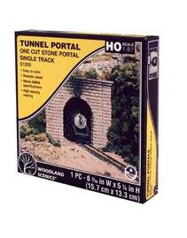 Woodland Scenics: SINGLE PORTAL CUT STONE - HO SCALE (1PC)