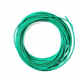 Peco: PL-38G GREEN 3AMP 16 STRAND WIRE (7.5M)