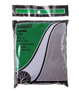 Woodland Scenics: B82 MEDIUM BALLAST - GREY