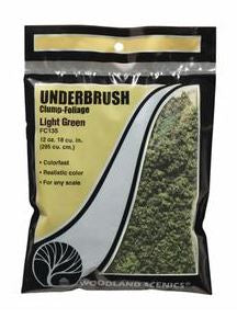 Woodland Scenics: FC135 UNDERBRUSH - LIGHT GREEN 24