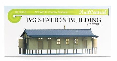 ANNIVERSARY DISCOUNT SALE Rail Central:  STATION BUILDING Kit of the Pc3 NSWGR #RC1001K  Retails $65.00