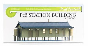 Rail Central:  STATION BUILDING Kit of the Pc3 NSWGR #RC1001K  Retails $65.00 SPECIAL $32.50