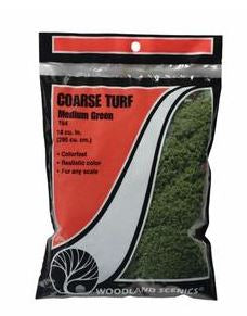 Woodland Scenics: T64 COARSE TURF - MEDIUM GREEN