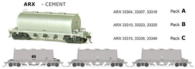 ARX SDS Models: ARX: Cement Wagon: CEMENT GRIME PACK C.