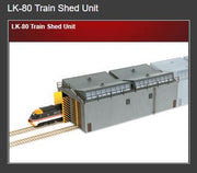 Peco: LK-80 Train Shed Unit LK80 00/HO Kit