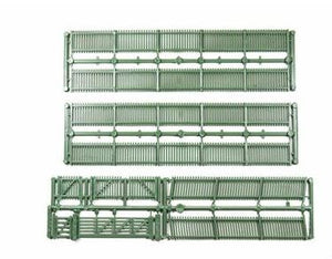 Ratio: 430 PICKET FENCE/GATES/RAMPS (GREEN)