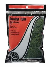 Woodland Scenics: T65 COARSE TURF - DARK GREEN