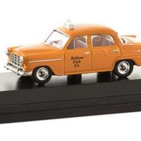 Road Ragers: 1958 FC Taxi Yellow Cab, HO Car. die-cast