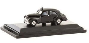Road Ragers: 1948 FX Police Sedan: Black, HO Car. die-cast