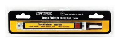 Woodland Scenics: TIDY TRACK TRACK PAINTER - RUSTY RAIL