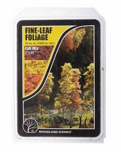 Woodland Scenics: F1135 FINE-LEAF FOLIAGE - FALL MIX