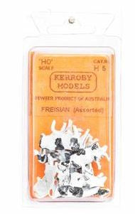Kerroby Models: H05 FRIESIANS  ASSORTED POSES  (10)painted