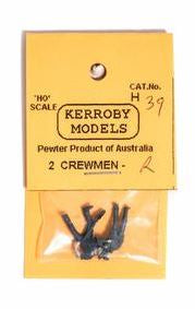 Kerroby Models: H39 CREWMEN R. D/ STANDING LEFT ARM UP LEANING,  F/ SHOVEL, L H