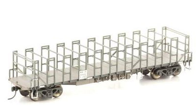 Auscision Models: NSW-30 - RCOF COILED WIRE WAGON NATIONAL RAIL / PACIFIC NATIONAL WAGON GRIME - 4 PACK #NSW-30