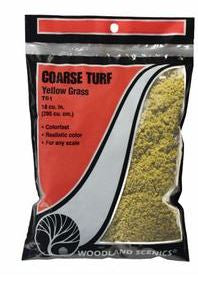 Woodland Scenics: T61 COARSE TURF - YELLOW GRASS