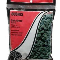 Woodland Scenics: FC147 BUSHES - DARK GREEN 24