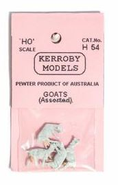 Kerroby Models: H54 GOATS (4) painted