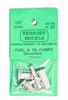Kerroby Models: H20 PETROL AND OIL PUMPS (4) kits unpaited