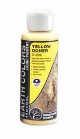 Woodland Scenics: C1223 EARTH COLOR YELLOW OCHER 4OZ