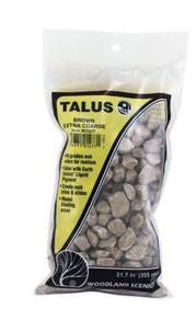 Woodland Scenics: C1277 TALUS BROWN EXTRA COARSE