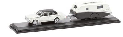 Road Ragers: 1963 Valiant AP5: Highway Cruiser Caravan Set, HO Car. diecast.