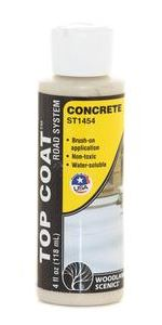 Woodland Scenics: ST1454 TOP COAT CONCRETE 118ML