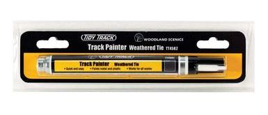 Woodland Scenics: TT4582 TIDY TRACK TRACK PAINTER - WEATHERED TIE
