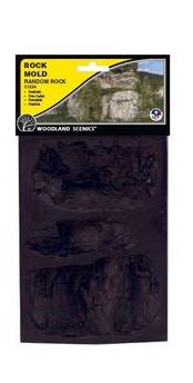 Woodland Scenics: ROCK MOLD RANDOM