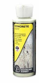 Woodland Scenics: C1217 EARTH COLORS CONCRETE 4OZ