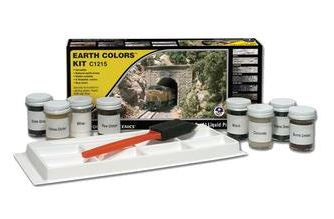 Woodland Scenics: EARTH COLORS KIT