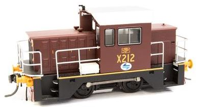 X212 ANNIVERSARY DISCOUNT SALE IDR Models: X212 NSWGR LOCO RAIL TRACTOR - INDIAN RED