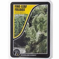 Woodland Scenics: F1132 FINE-LEAF FOLIAGE - LIGHT GREEN