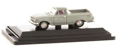 Road Ragers: 1963 EJ Ute: Silverton Grey. HO Car. die-cast
