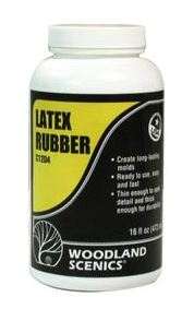 Woodland Scenics: C1204 LATEX RUBBER 473ML